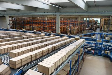 Logistics Stock Transport Shipping