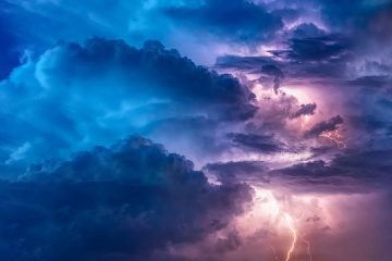Thunderstorm Flashes Flash Weather