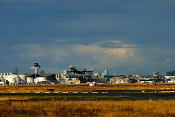 Aircraft Take Off Departure Rise
