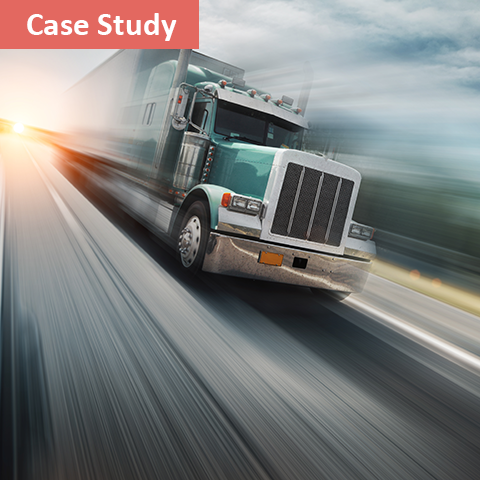 truck driving fast transportation machine learning solutions