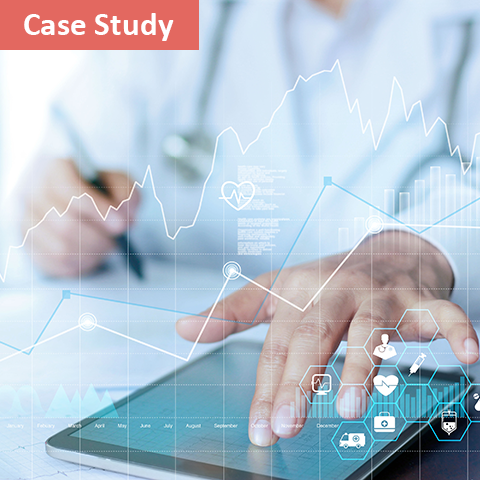 healthcare machine learning solutions ipad charts