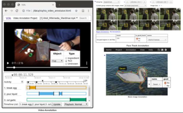 screen shot of VGA open source annotator