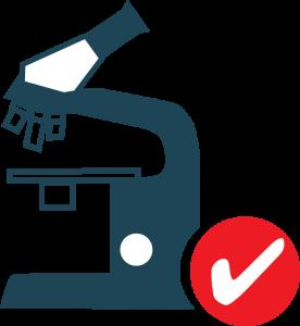 reliable model icon QA microscope