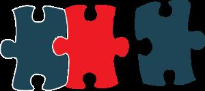 reliable model deployment puzzle pieces icon