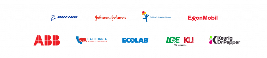 featured customer logos supported by data science capability development engagement model