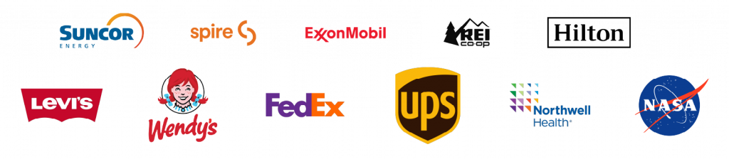 reliable engagement model featured customer logos